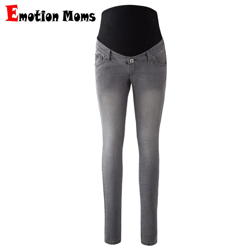 Décontractée Ventre Maternité Jeans Crayon Pantalon pour Enceinte Femme Pratique