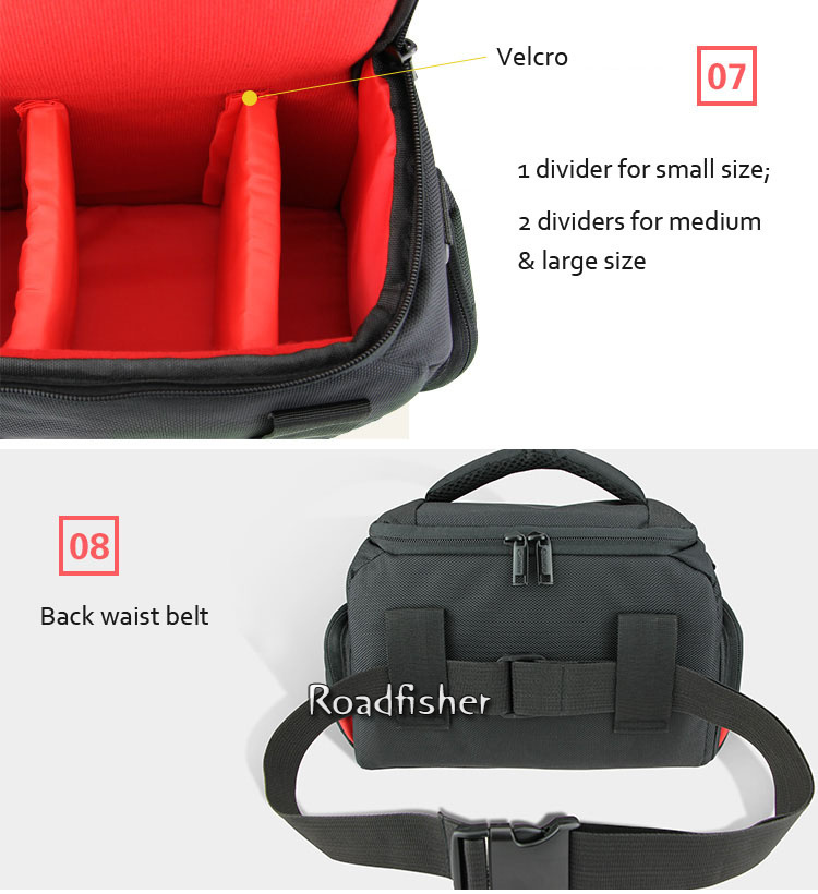 Camera shoulder bag for Canon EOS-15