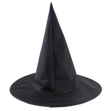 Nouveau Noir Sorcière Chapeau