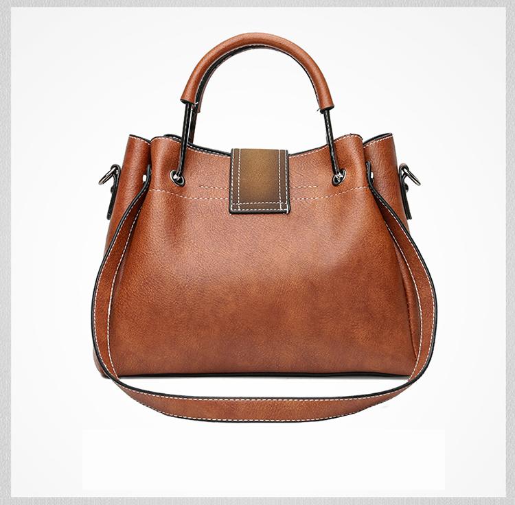 VMOHUO Genuine Leather Women