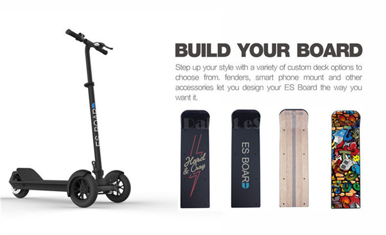 Daibot Electric Scooters Adults 3 Wheels ES Board Self Balancing Scooters 450W Brushless Motor Kids Foldable Electric Skateboard (13)