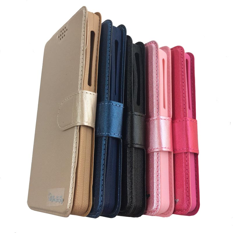 Universal Cell Phone Leather Case with Card Slots for Oukitel K7/K8/OK6000 Plus/WP5000/U19/C9/U18 Wallet TPU Phone Cases