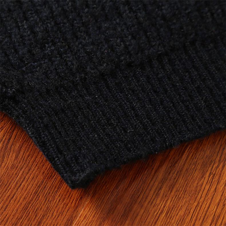 4Colors Heavy-Knit Sweater Men Pullovers Thick Winter Warm Sweater Jumpers Women Autumn Male Female Dress knitwear Plus size 4XL-07