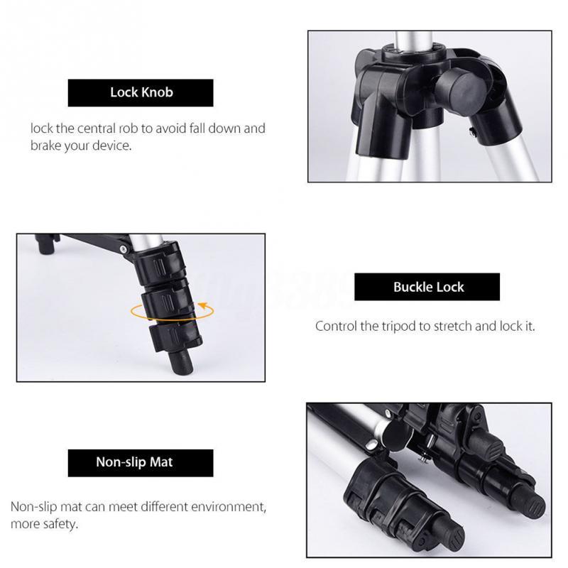 Tripods camera stand cam smartphone mobile phone holder monopod tripe extension stick tripod for camera standaard (6)