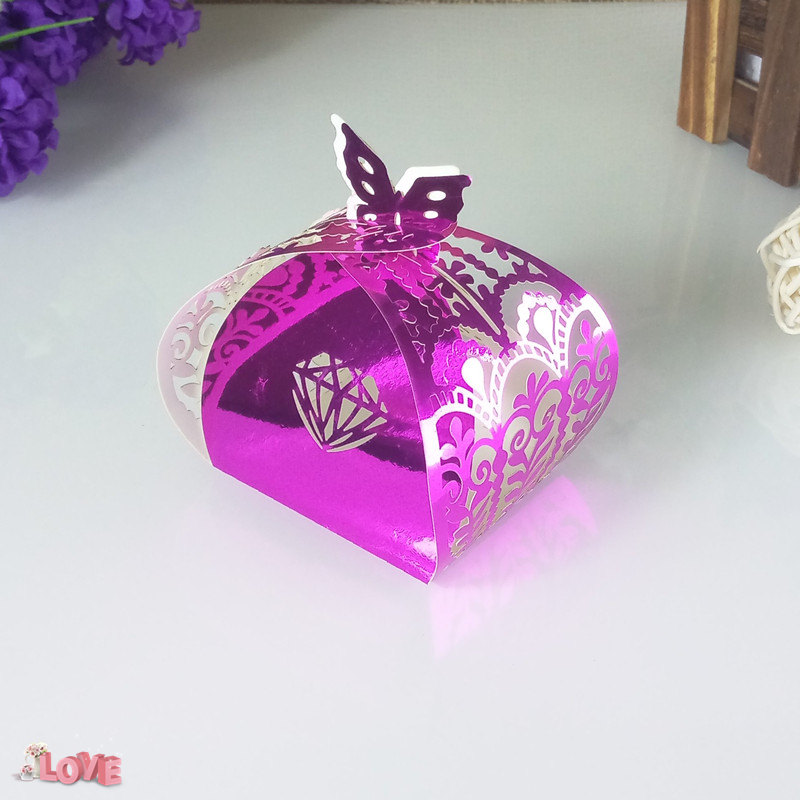 hollow carving wedding candy box New Year Christmas gift box baby shower romantic wedding like decoration 6ZT55