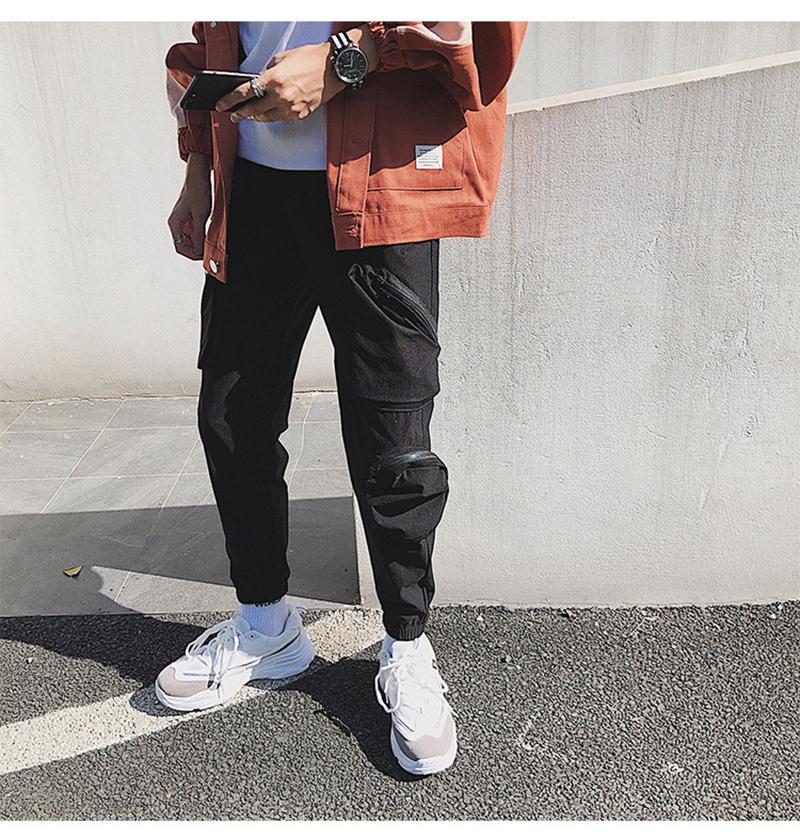 Pocket Tactical Fashions Men Hip Hop Pants Man (22)