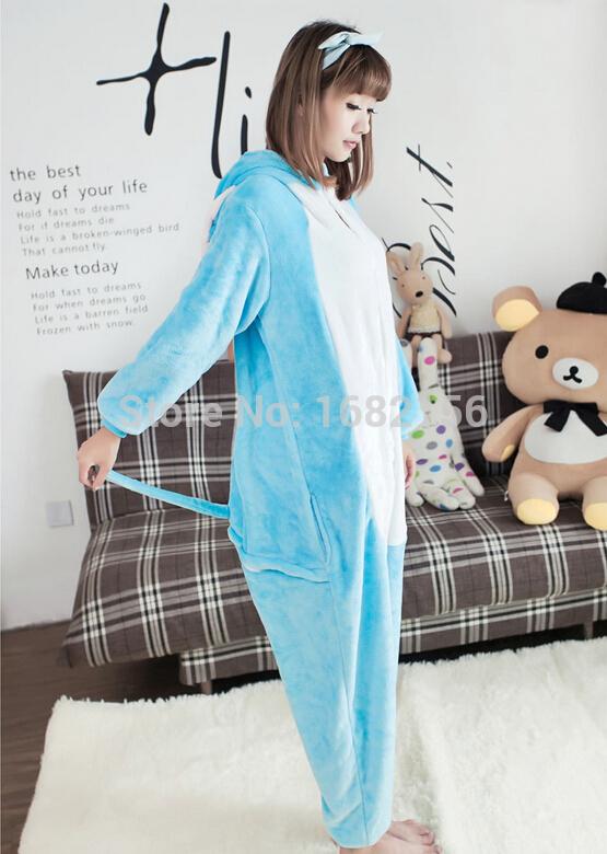 Kigurumi Lovely Elephant Pajamas Pyjamas Adult Children Onesie Animal Sleepsuit For Unisex