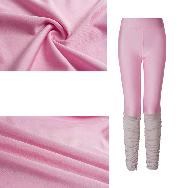 2c1a873ce0e15 good quality Plus Size 3XL Pink Pants Black Gray Leggings Patchwork Fitness  Skinny Pants Slim Women Leggings Push Up Sexy