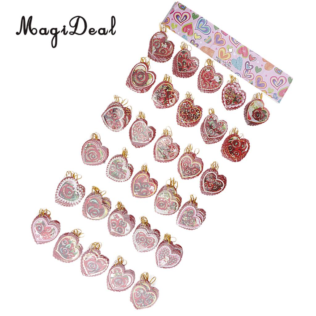 240 Pieces Rose Message Card Holiday Wish Card Hanging Notes Card Wedding Engagement Christmas Decor