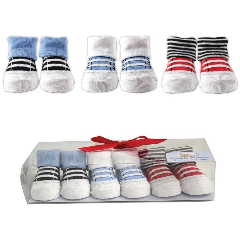 3pairslot Kids Socks Baby New Born Boy Girl Casual Winter Meias Infantil Baby Gift Set Anti Slip Socks High Quality (2)