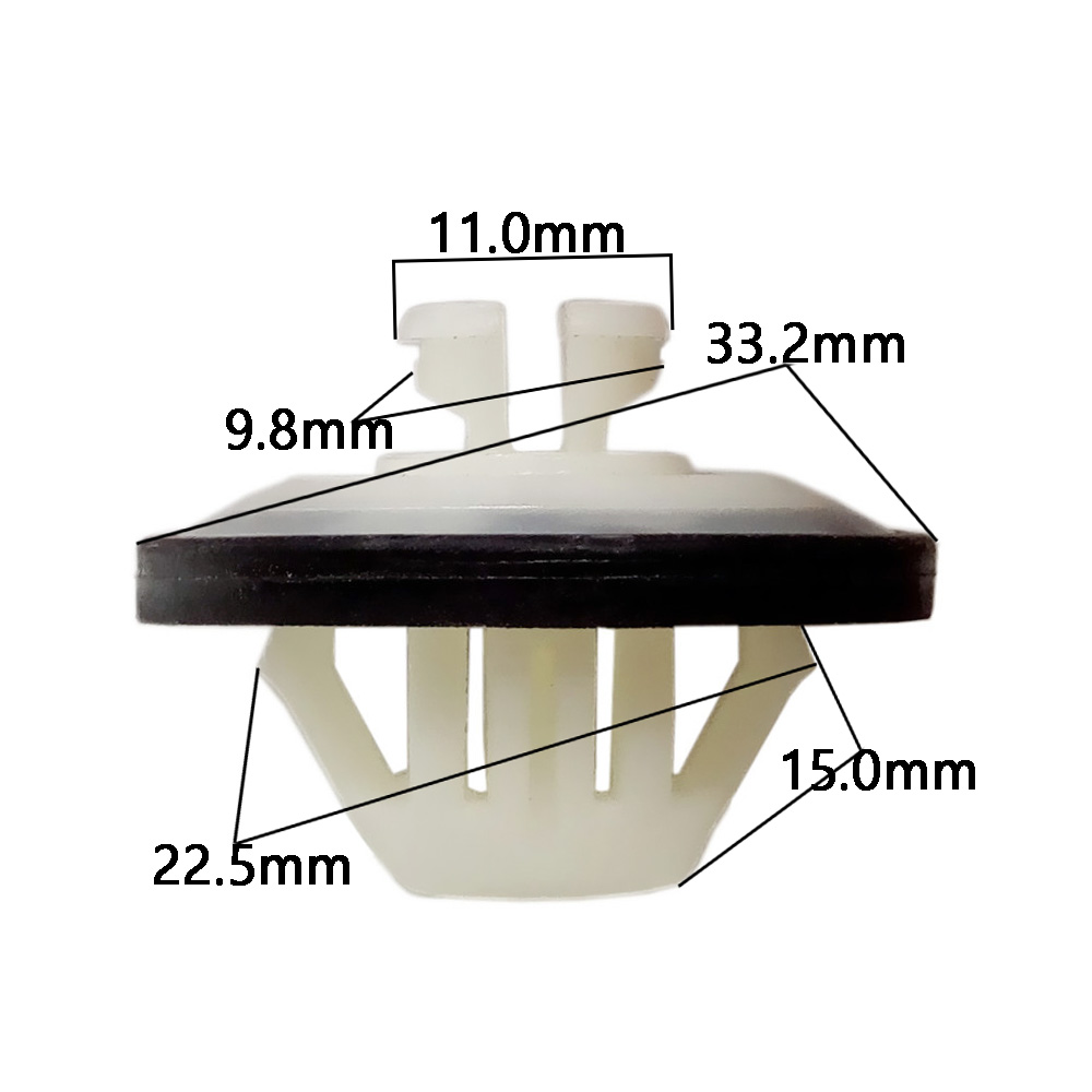 Automobile Decorative Board Fasteners Car Threshold Sill Fixed Clip for Mercedes Benz X1 3 5 6 Series Car Styling