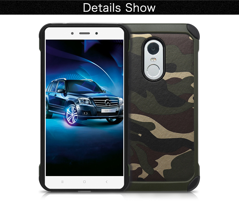 Millet 6 mobile phone shell red rice note43 protective sleeve 5 creative camouflage all inclusive anti fall soft silicone Combo (8)