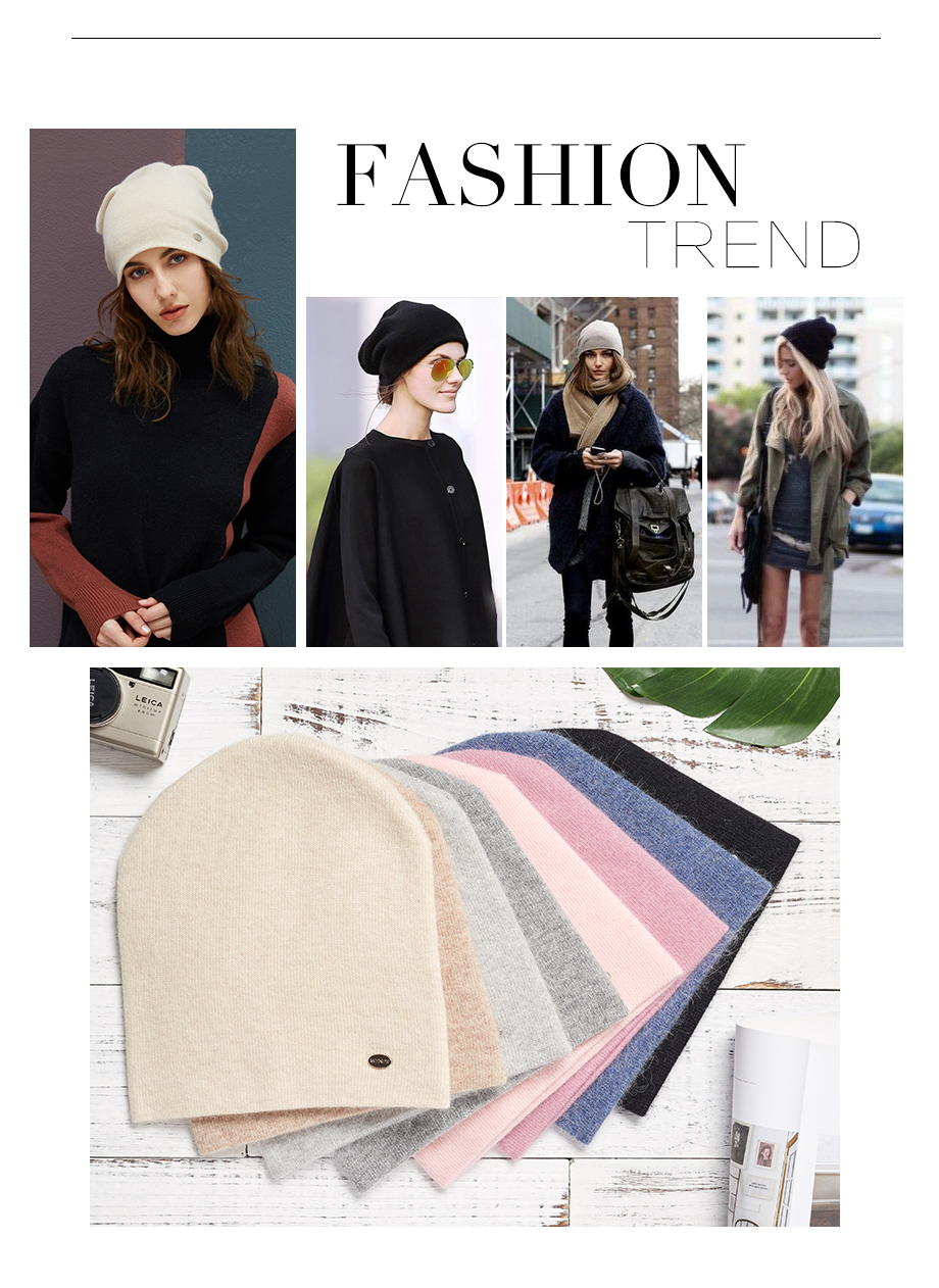 Winter Hats For Woman 2018 New Beanies Knitted Solid Cute Hat Girls Autumn Female Beanie Warmer Bonnet Ladies Casual Cap 8 Color (3)