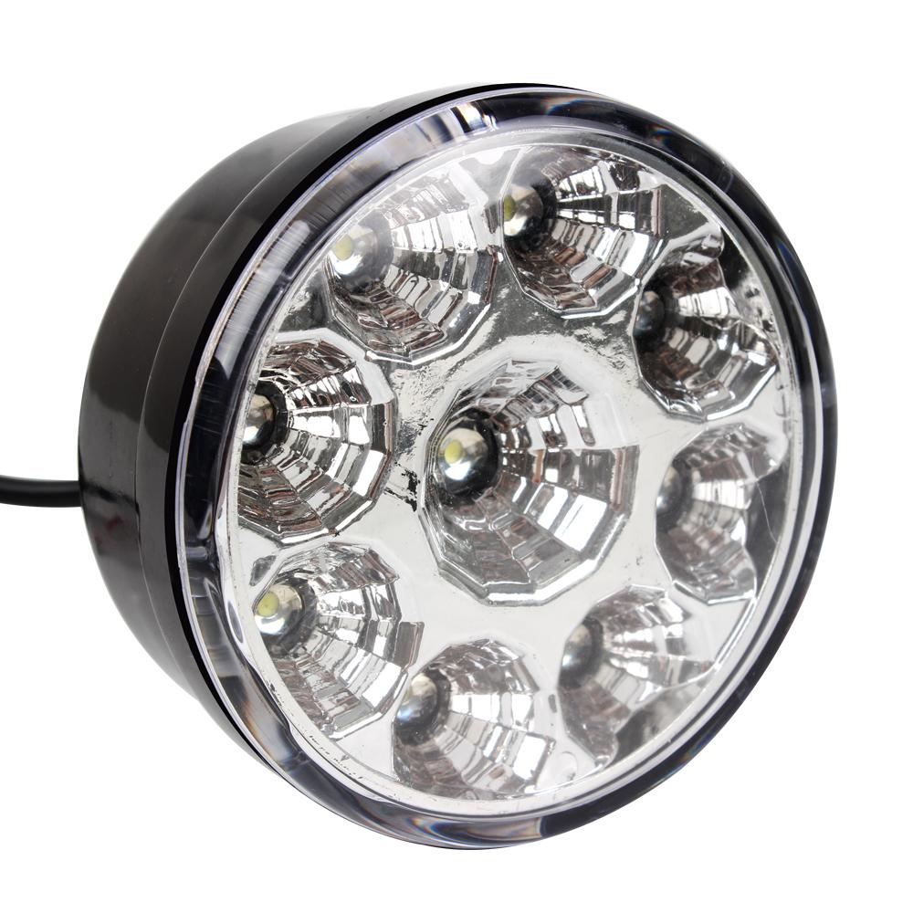 Anillo Auto de 12 V Auto 4x4 Van Ronda Niebla Halogeno Spot lámparas luces-Par