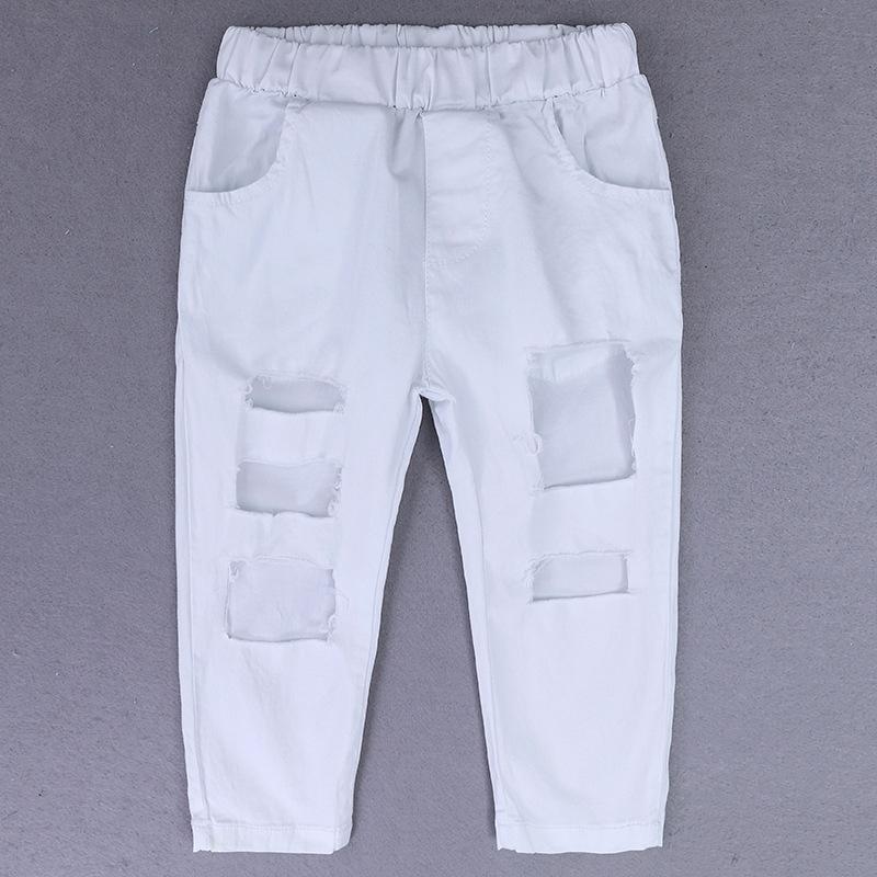 Conjuntos de ropa para niñas de verano para niños Camisa con hombros descubiertos + Pantalones con agujeros + Banda para el cabello Conjunto de ropa para niñas Ropa para niños