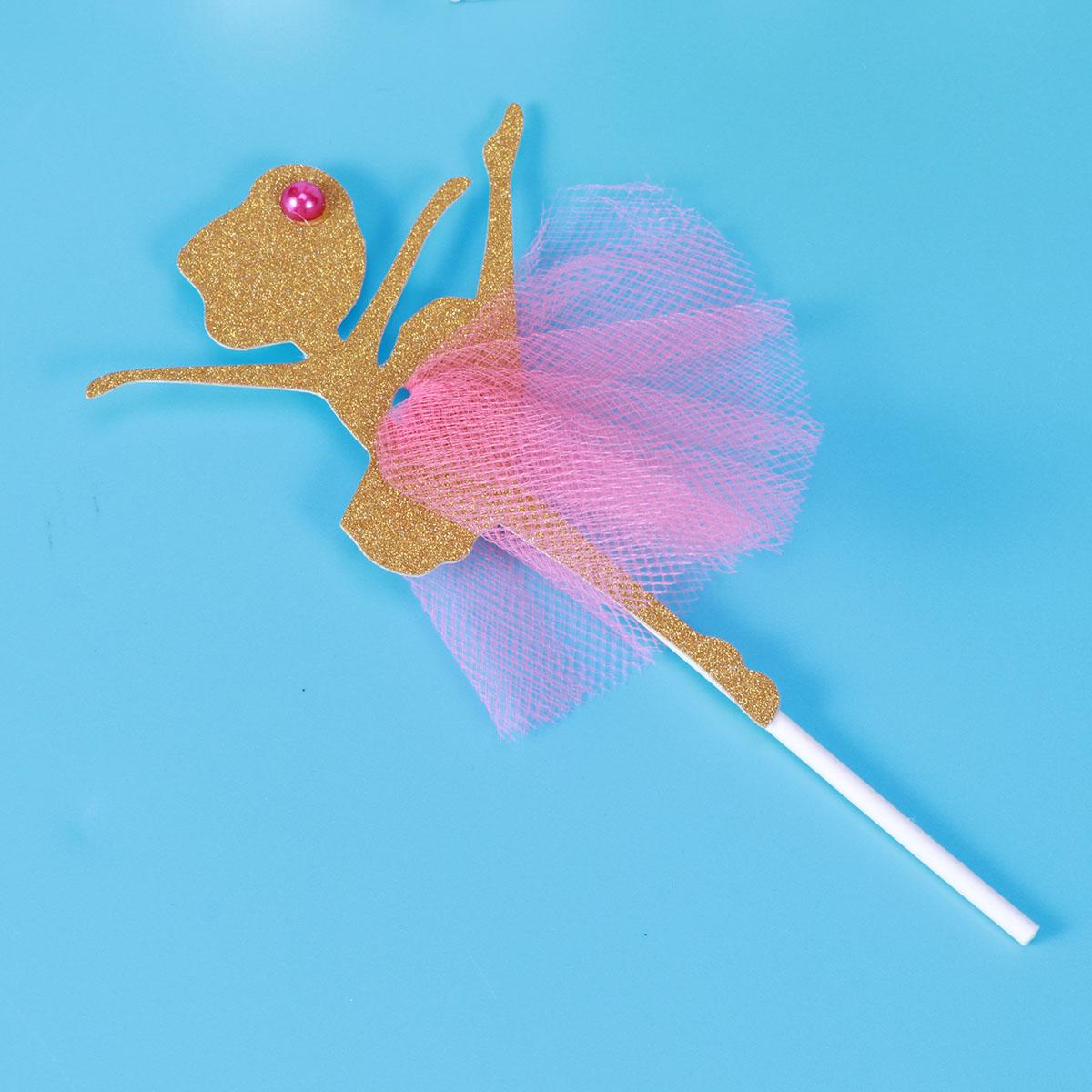 Ballet Princess Cake Cupcake Topper Decoration Picks Birthday Wedding Bridal Shower Baby Shower