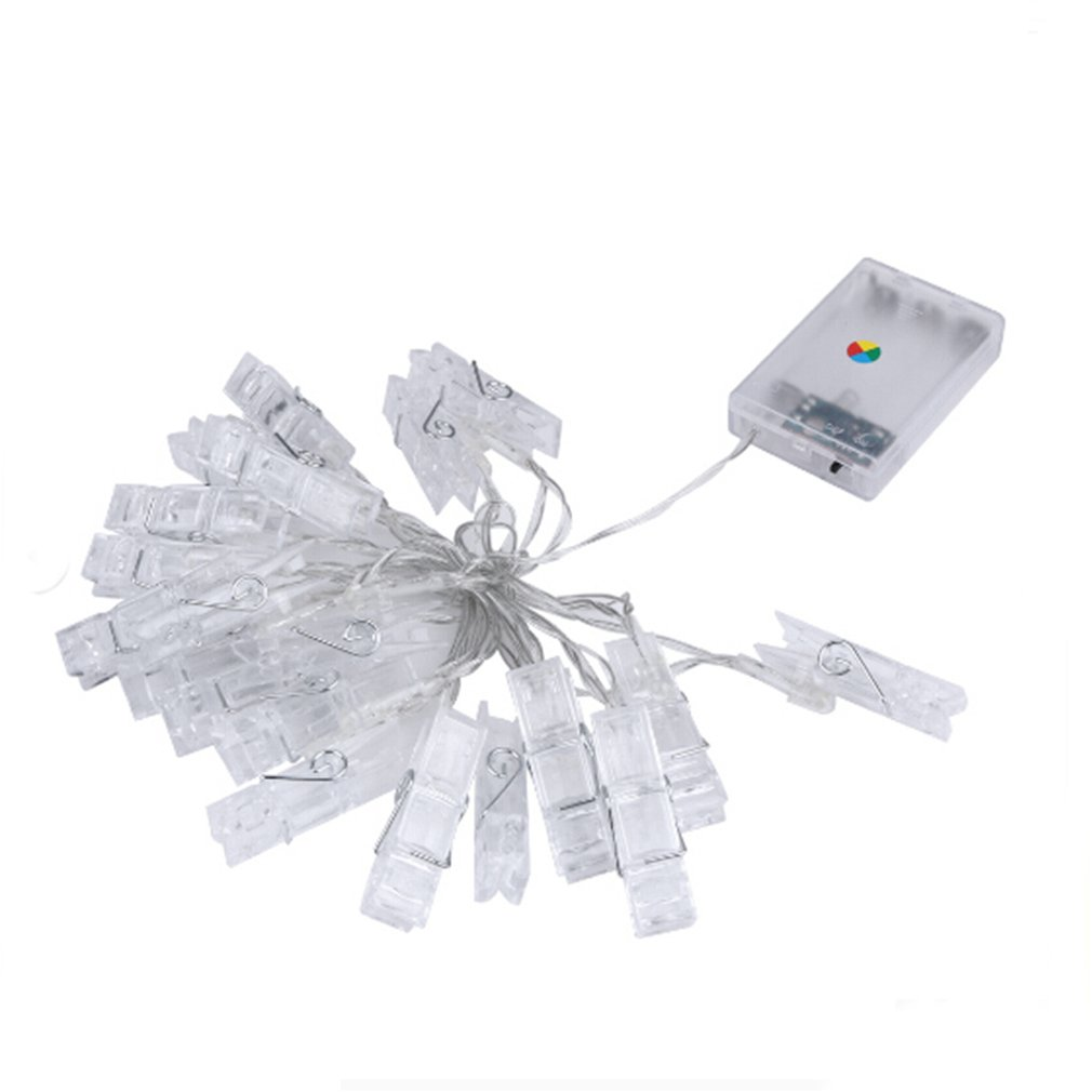 20 LED Card Photo Clip String Lights Battery Christmas Party Wedding lights