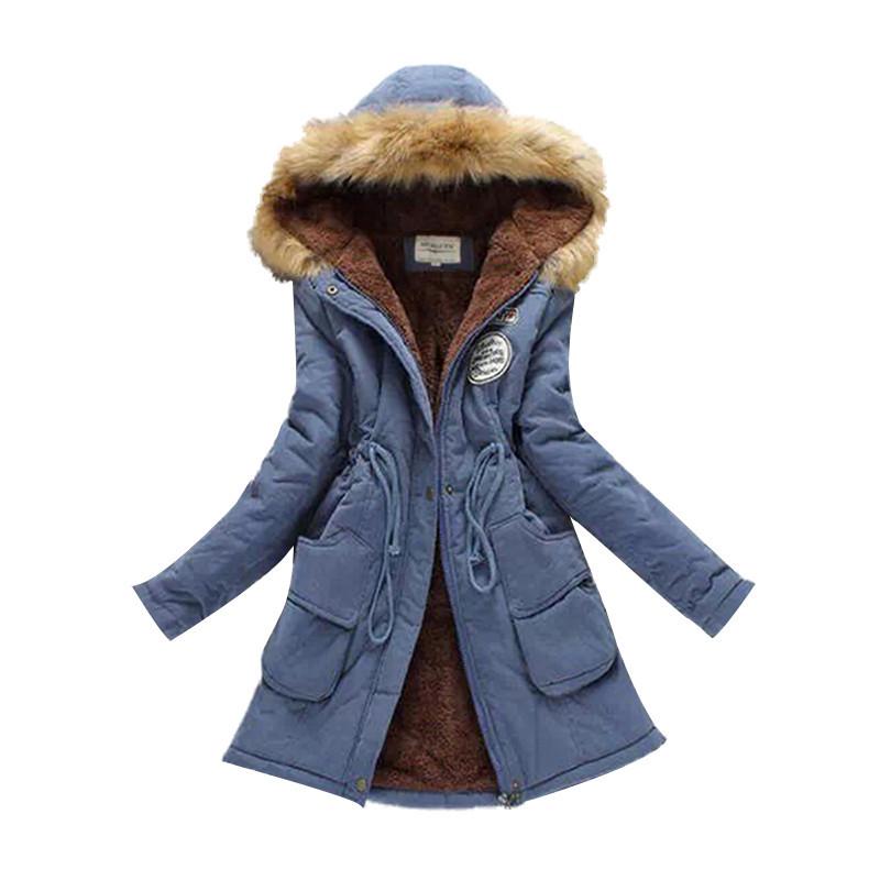 2019 Neue Parkas Weibliche Frauen Wintermantel Verdickung Baumwolle Winterjacke Frauen Outwear Parkas für Frauen Winter
