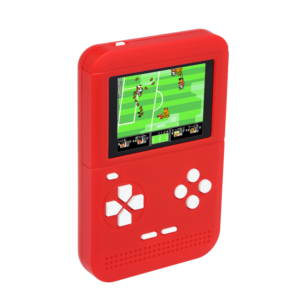 New 300 in 1 Portable Retro Gaming Player Mini Handheld Game Console 8 bit 2.6 inch LCD Color Screen Children Game Player for Kids Xmas Gift