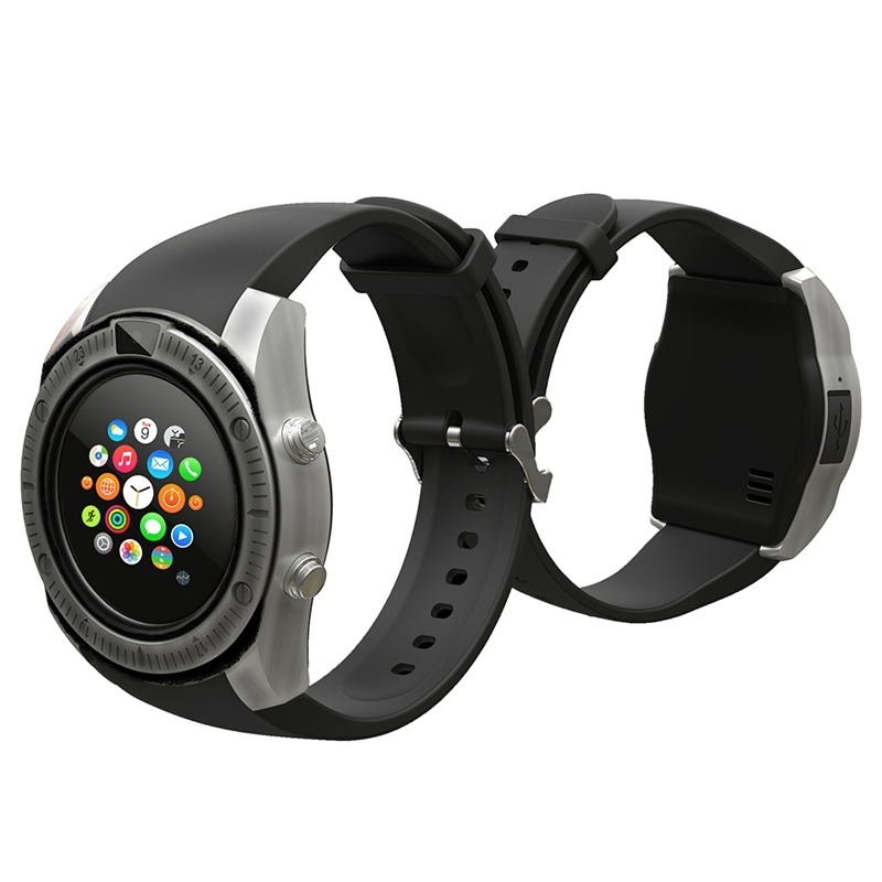 Top Gift Vintage Bluetooth Wrist Smart Watch for IPhone Android Phone with Camera Support SIM Card TF Card Newest Smartwatch