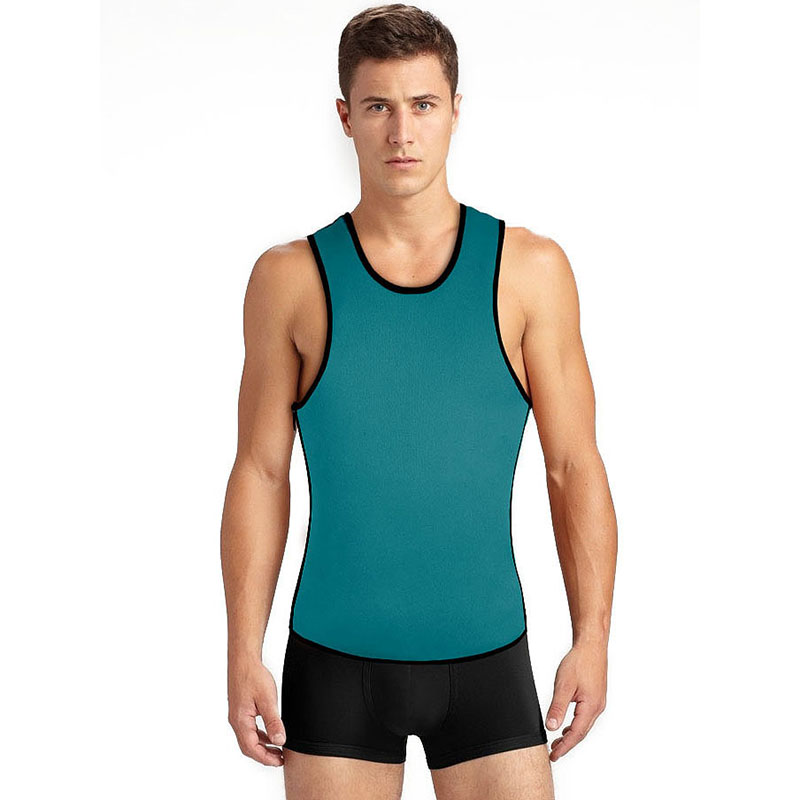 Neoprene Vest Men Speed Sweat Clothes Second Corset For Men Sbdomen Gynecomastia Slimming Belt Burning Men Tank Top Bodybuilding (4)