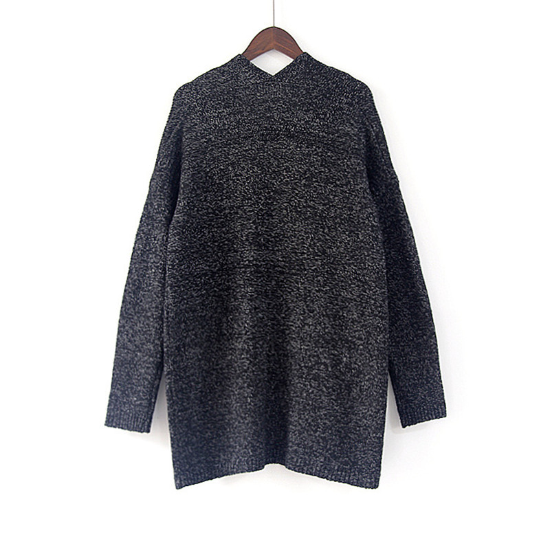 Women Autumn Winter Cardigan Long Sleeve loose Knitted Sweater Jacket Long Style Double Pocket Sweaters Coat Solid Knitting Outerwear S-5XL