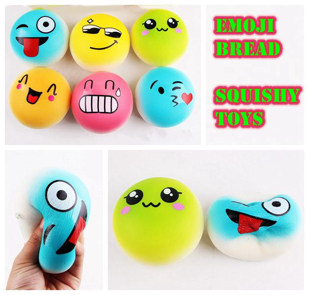 Emoji Pulseras De Silicona 6 bandas diferentes emociones Suerte Pulsera emoji bandas