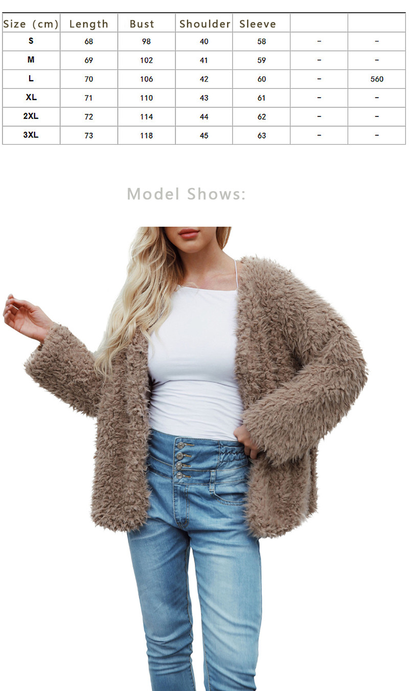 European and American fashion fur coat with warm coat and fur coat (1)
