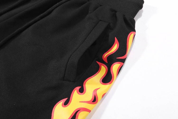 Trasher Flame Shorts 4