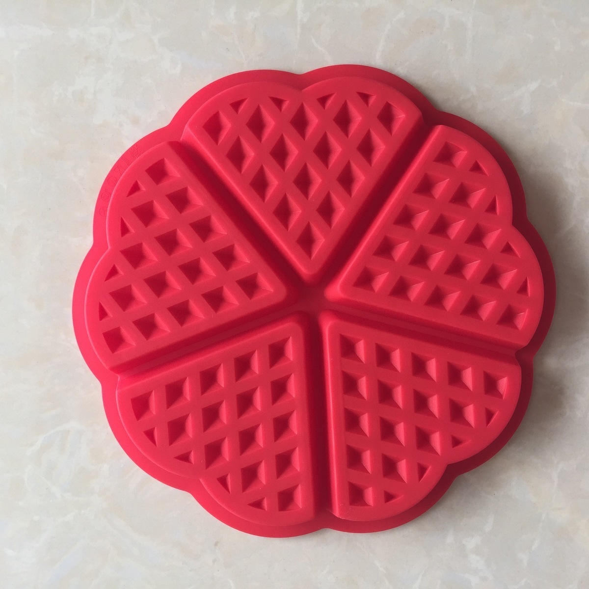 5 Heart-shaped Cake decorating tools Molds Fondant Decoration Baking Silicone reposteria patisserie