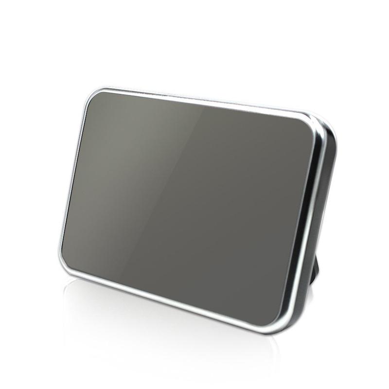 HD MIni Alarm Clock Camera 1080P Digital Mirror Clock Camera Security Mini DVR with Motion Detection & Remote Control Nanny Cam Mini DVs