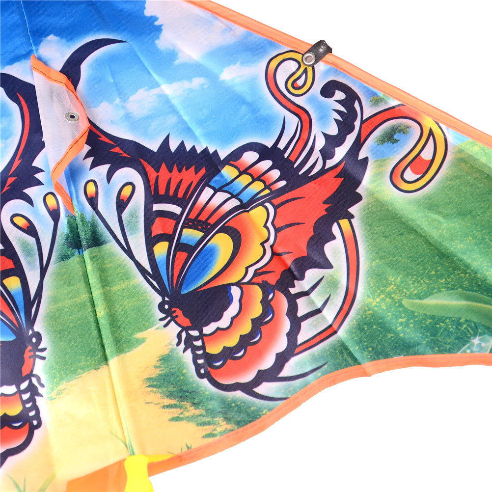 50 Cm Color Bees Eagles Butterflies Owls Styles Medium Traditional Foldable Kite Wholesale Recreation Products Outdoor Kids Gift