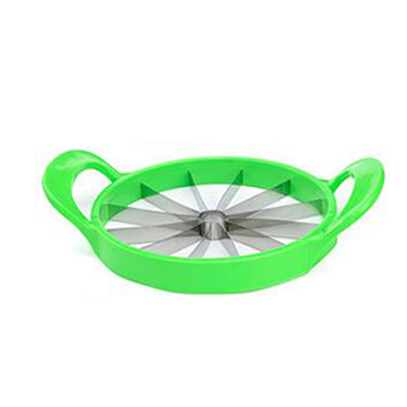 New Stainless Watermelon Slicer Cutter Fruit Cantaloupe Divider Kitchen Tool