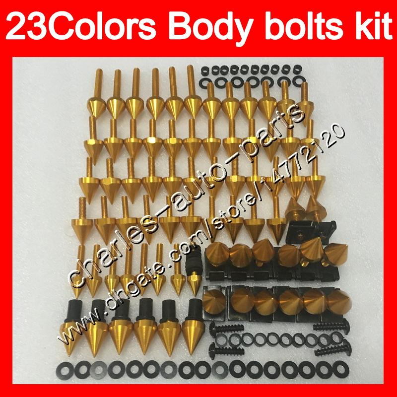 750 K1 2001 2002 2003 Complete Fairing Bolt Screws Kit for Suzuki GSX-R 600