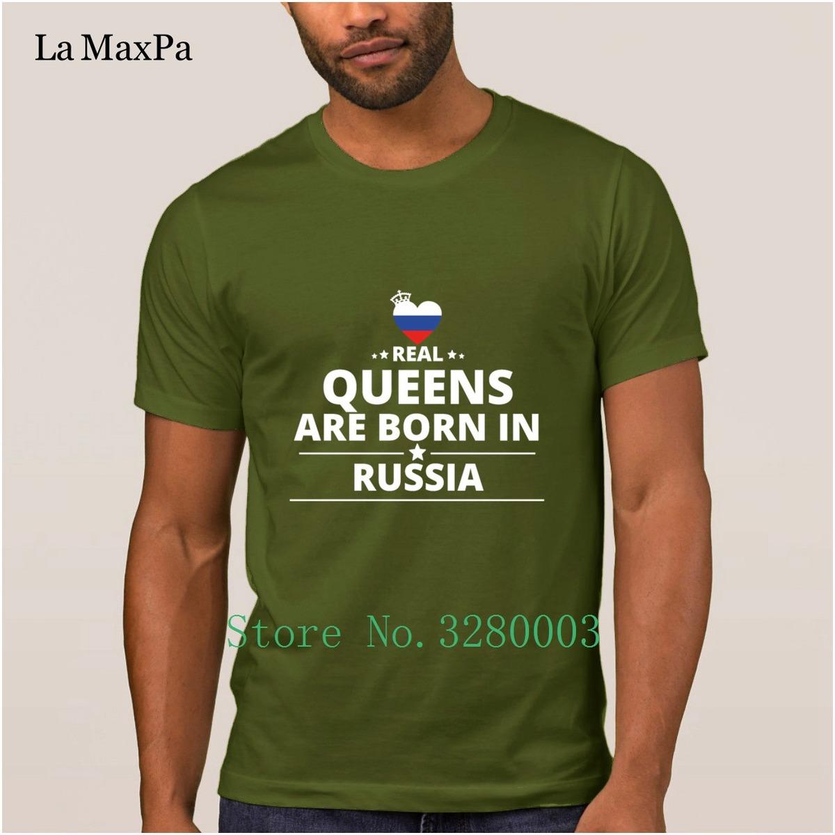 Customize Humor men's t shirt queens from geschenk i love russia t-shirt men Spring Autumn Standard tshirt Euro Size S-3xl Loose