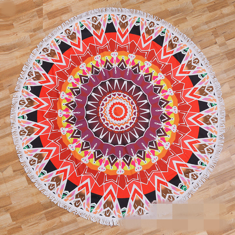 Round beach towel (23)
