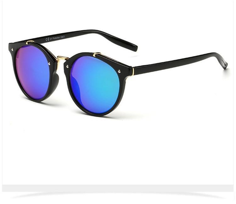 2016 Classic Brand Designer Sunglasses Women Men Retro Round Sun Glasses Woman shades Mirror Eyewear Lady Male Female Sunglass (34)