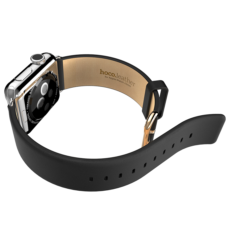 Original HOCO Classic First Layer Cattle Genuine Leather Watchbands For Apple Watch Leather Band 38MM 42MM Fit For Series 1 2 3