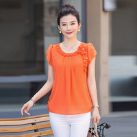 new-2016-Mother-clothing-summer-chiffon-T-shirt-middle-age-women-fashion-short-sleeve-top-plus.jpg_200x200