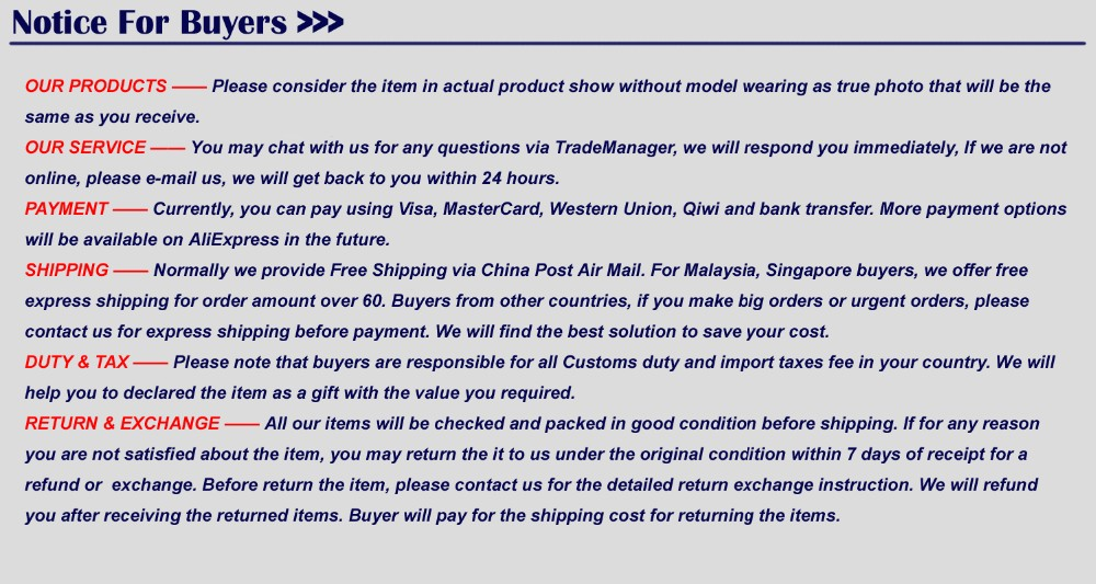 7-notice for buyers