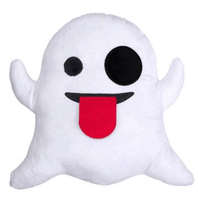 Funny Plush Smiley Face Emoji Pillow Cushion Home Sofa Seat Chair Decorative Pillow Cushion Monkey Ghost Emoji Almofadas