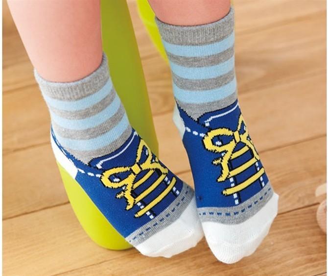 Newborn Kid Socks =Baby Socks Anti Slip Character Cotton Socks Novelty Shoe Gifts For Baby Boy And Girl Slipper
