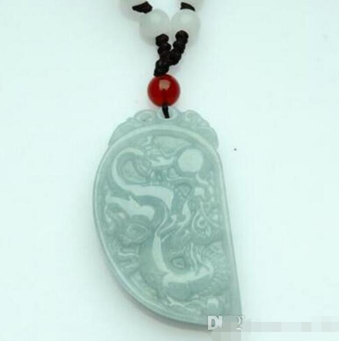 Vert Chinois Jade Tigre Collier Pendentif Mode Charme Bijoux Lucky Amulet A3