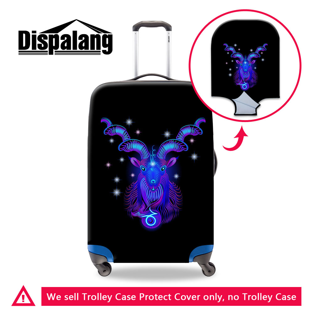 Spider Web Travel Luggage Cover Stretchable Polyester Suitcase Protector Fits 18-20 Inches Luggage