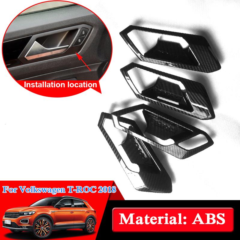 ABS Chrome Door Handle Cover Decorative Trim 8pcs for Jaguar XE X760 2015-2016