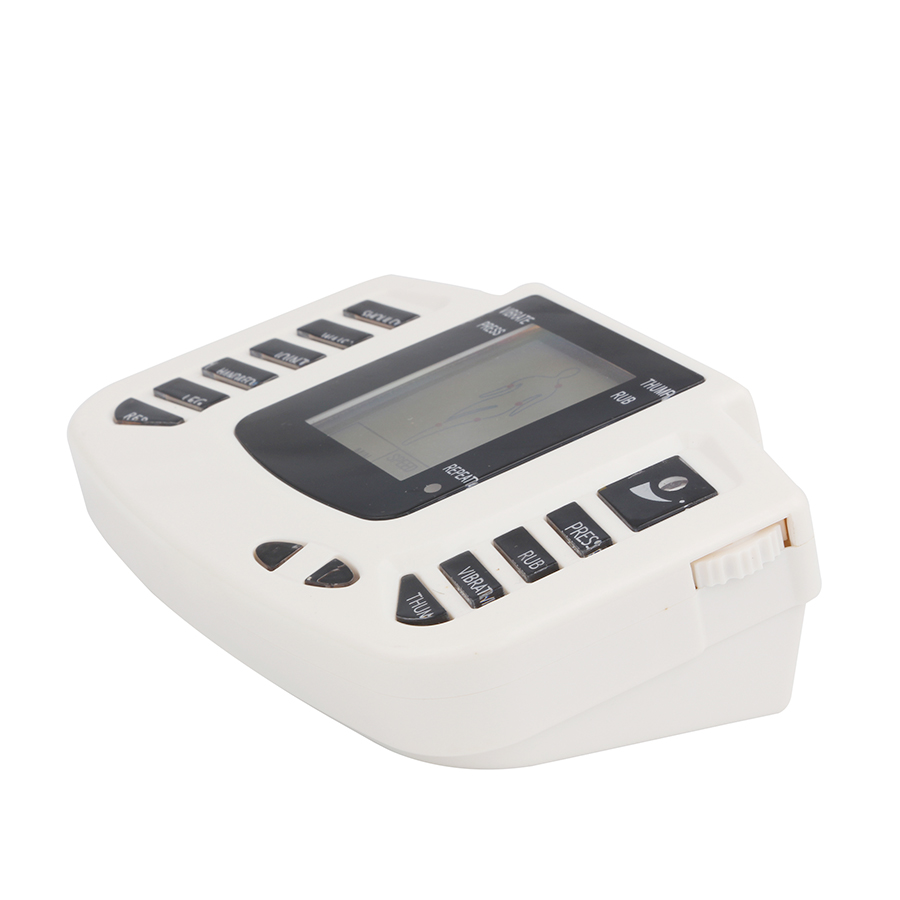 BEYONTH JR-309A Digital EMS Tens Therapy Massager Machine Acupuncture Muscle Simulator Sculptor Massage + Electrode Pads