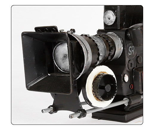 Camera Retro Metal Old Camera Model For Home Decoration Film Television Props Decoration Creative Home Decor Gift