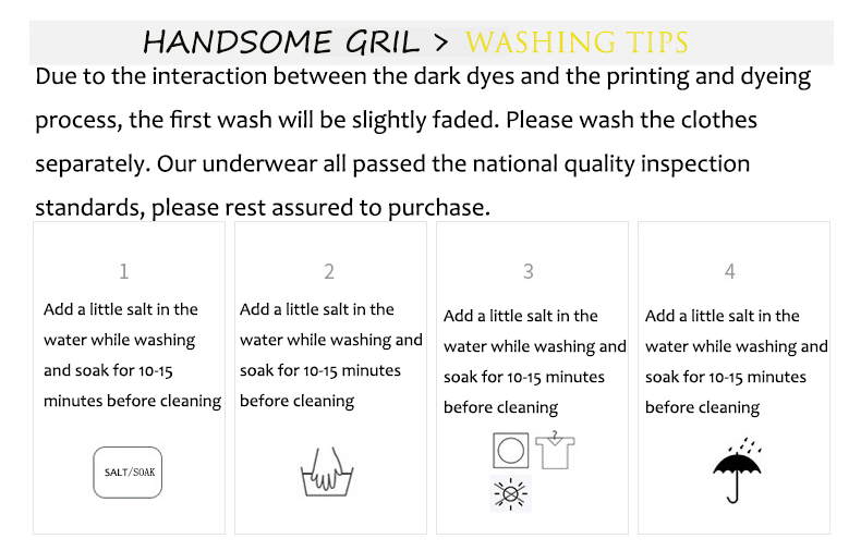 a Washing Tips