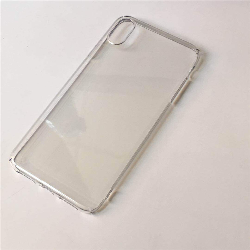 for iphone X Xr Xs Max PC case DIY Plain Transparent Clear Unltra Thin Full Body Protector Shockproof Cover Cases for Apple iphone xr xs max