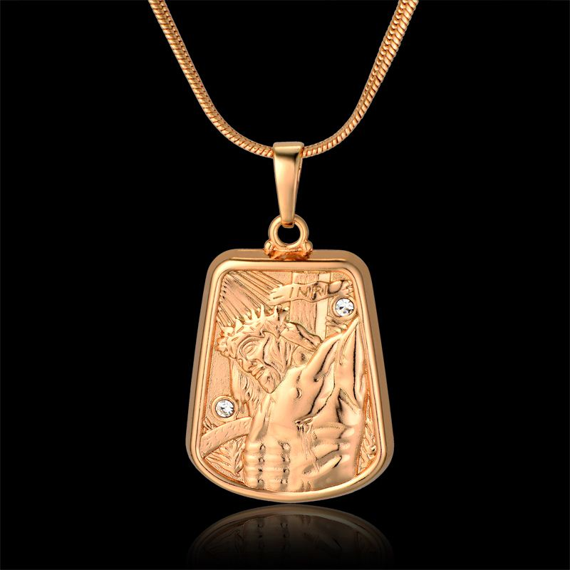 retro style Freedom of god alloy charms pendants 34*10mm